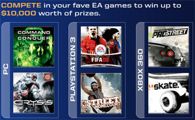 EA Games: PC, PS3, XBOX 360