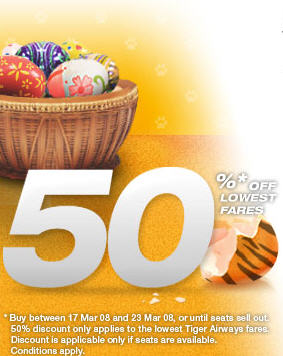 tigerairways march promotion image