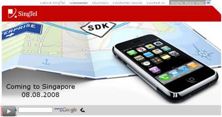 SingTel to Give Away 88 iPhones