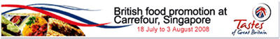 British Food Promotion at Carrefour