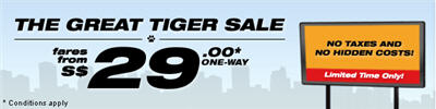 Great Tigerairways Sale