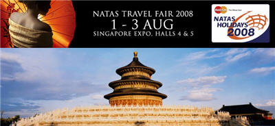 NATAS Travel Fair 2008: 1-3 Aug