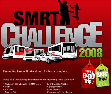 SMRT Challenge 2008