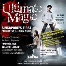 Ultimate Magic: Singapore's 1st Permanent Illusion Show