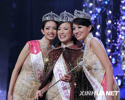 Miss Hong Kong 2009: Sandy Lau Won!