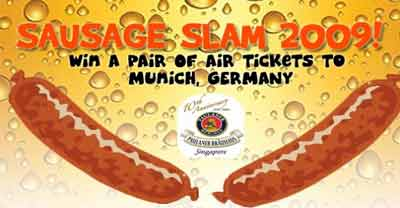 Sausage Slam 2009: Win A Pair of Tickets to Munich, Germany