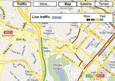 Google Maps Singapore
