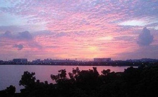 Sunset View of Pandan Reservoir