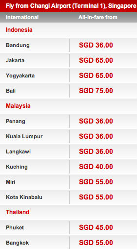 Air Asia Big Sale Till 20 May 2012