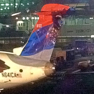 Video: Air France A380 Strikes Delta Plane at JFK