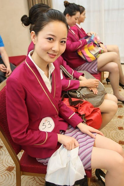 PHOTOS: Beautiful Flight Attendants from 7 Chinese Airlines