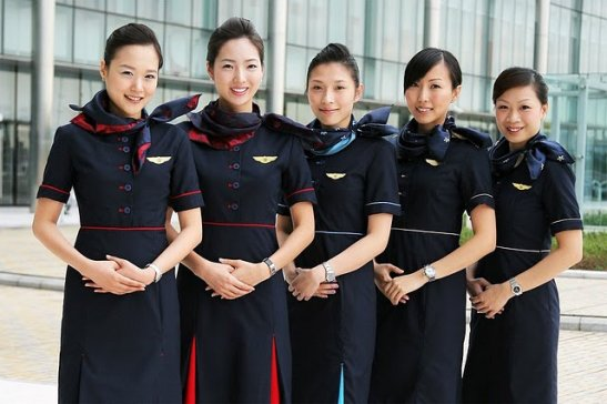 Hong Kong Airlines Flight Attendants
