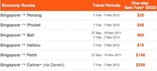 Jetstar Beach Sale Fare