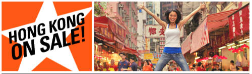 Jetstar Promotion: SG to HK fr $99 till 3 Feb 2011