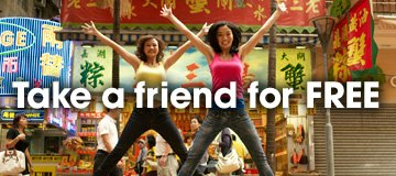 Jetstar promotion: Take a friend for FREE!