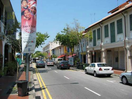 Joo Chiat Road in Singapore