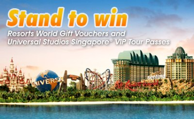 Refer friends & win a pair of Universal Studios Singapore VIP Tour tickets