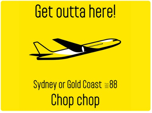 Scoot fare promotion to Sydney