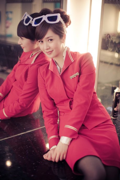 Shenzhen Airlines Flight Attendant