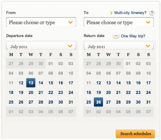 singapore airlines flight schedule search