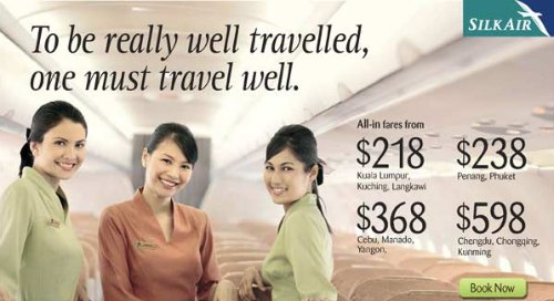 Silk Air Natas 2011 Promotion