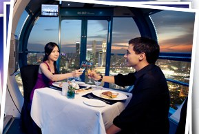 Win a Sky Dining Flight for 2 worth $249! [till Jan 09 2011]