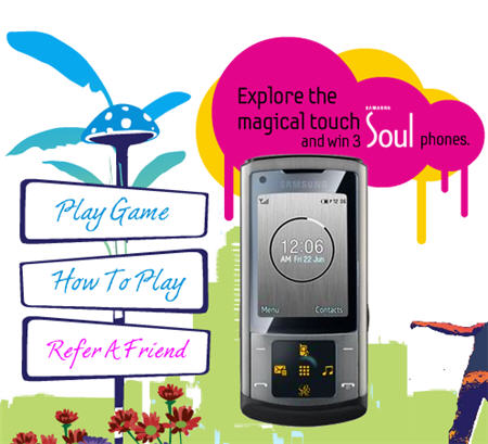 win samsung soul phone