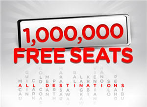 1,000,000 AirAsia FREE Seats