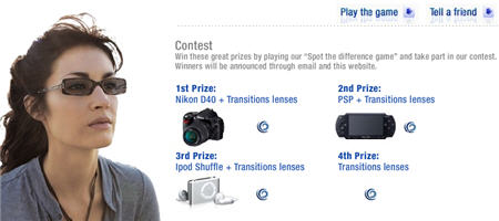 Play &#8220;Spot the Difference Game&#8221; and Win Nikon, PSP, iPod