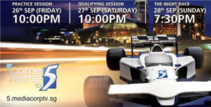 Watch F1 Live on Channel 5