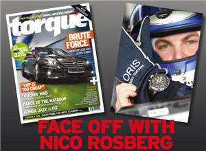 Face Off with Nico Rosberg In F1 Simulator Car: Sep 19