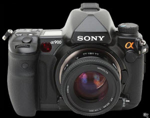 Sony DSLR a900: the World's Highest Resolution DSLR