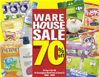 Carrefour 1st Warehouse Sale @ Serangoon!