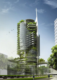 "Singapore EDITT Tower: A Paragon of ""Ecological Design In The Tropics"""