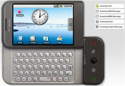Google Android Phone: G1 Emulator, 360 View, Guides