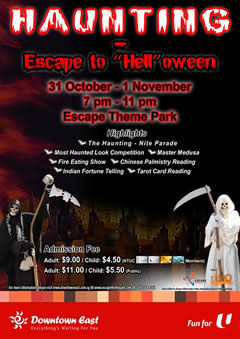 "Haunting Escape to ""Hell""oween"