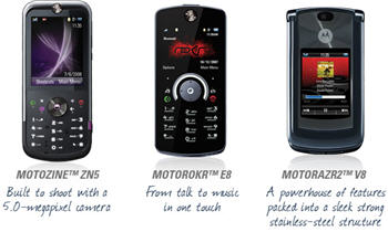 Win MOTOZINE™ ZN5, MOTOROKR™ E8, OTORAZR2™ V8 With Your Holiday Story