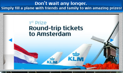 Win Round-trip Tickets to Amsterdam