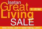 Isetan Great Sale: 9-22 April 2009