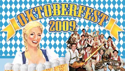 Oktoberfest 2009: German Beer Festival on Oct 31