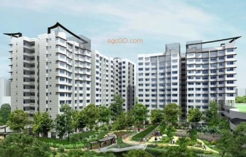 HDB BTO: Limbang Green &amp; Buangkok Vale (Photos)