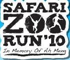 Safari Zoo Run 2010: to mark the death anniversary of Ah Meng