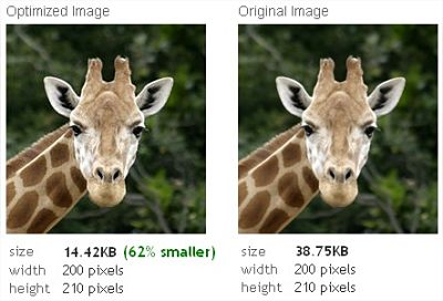 Optimize Images Online with Webresizer