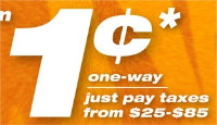 Tiger Airways cent-sational fares from 1 cent! Book by 26 May 2010.