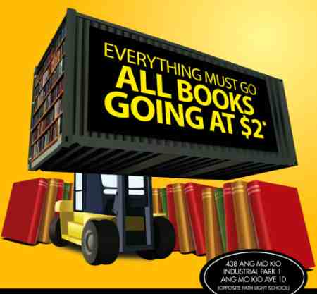 Books Warehouse Sale: All books going at $2!