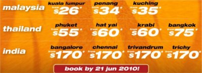 Tiger Airways: from as low as $26 all-in!