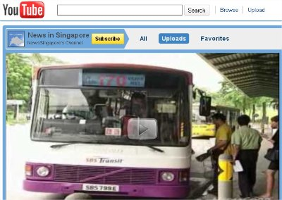 Watch Singapore News on YouTube