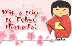 Win A Trip to Tokyo (Haneda) with Singapore Airlines
