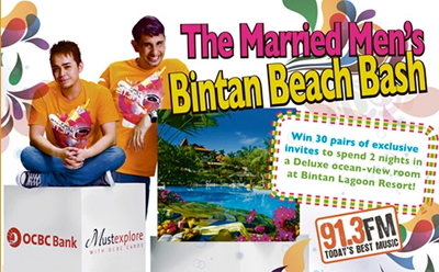 The Married Men&#8217;s Bintan Beach Bash till 14 Oct 2010