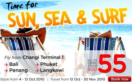AirAsia: time for a holiday promotion till 12 Oct 2010